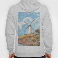 Windmill Against a Blue Sky Hoody
