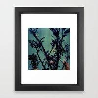 Polaroid Spring Framed Art Print