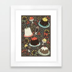 Sweet Deserts  Framed Art Print