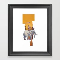 Start Small, Think Big Framed Art Print