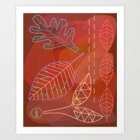Fall 2011 Art Print
