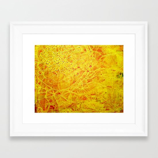 Flower I Framed Art Print