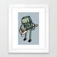 Practice make perfect Framed Art Print
