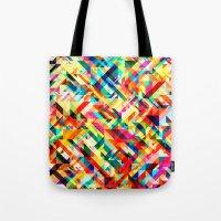 Summertime Geometric Tote Bag