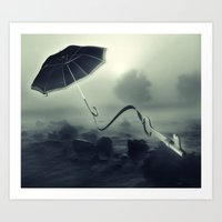 Hope Floats Away Art Print