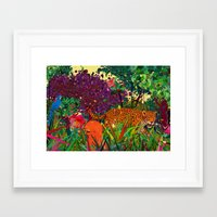 amazonic Framed Art Print
