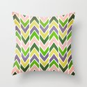 Multi Chevron Throw Pillow