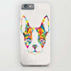 Rainbow Bulldog iPhone 6 Slim Case