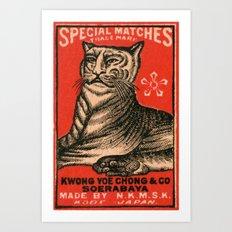 Special Matches - Japan Art Print