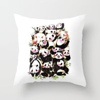 Wild Family Series - Aft… Throw Pillow