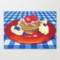 Pancakes Week 10 Canvas Print