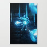 Mecha Series // Seth Canvas Print