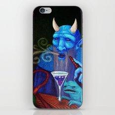 Hookah Demon iPhone & iPod Skin