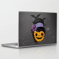 halloween Laptop & iPad Skins featuring Halloween by mark ashkenazi