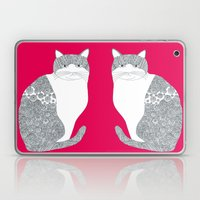 Pink-Cat Laptop & iPad Skin
