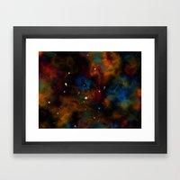 Final Frontier Abstract Framed Art Print