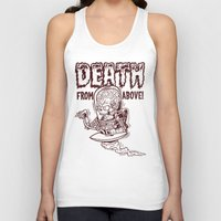Death From Above (Red) Unisex Tank Top