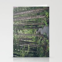 A walk through the trees Stationery Cards