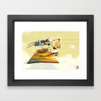 Pigs Still Fly Framed Art Print