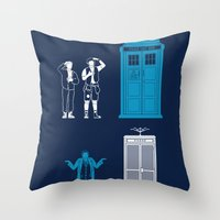 This is Not My Time Machine Throw Pillow