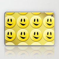 Smiley Smileys! Laptop & iPad Skin