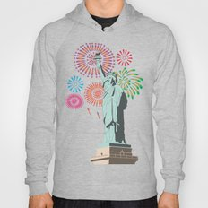 The Statue Of Liberty An… Hoody