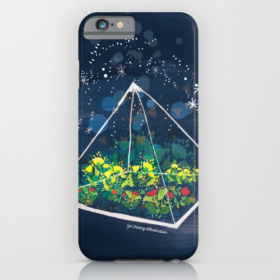 The Greenhouse at Night iPhone & iPod Case