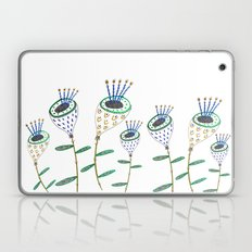 Plants, flowers, flower print, plant illustration, floral artwork, floral illustration,  Laptop & iPad Skin