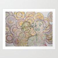 Sunshine In An Emo World Art Print
