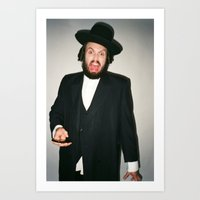 Rabbi Carlos Art Print