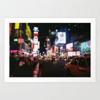New York City - Times Sq… Art Print
