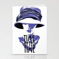 Time After Time Bleu Stationery Cards