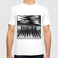 Descending Of Night At T… Mens Fitted Tee White SMALL