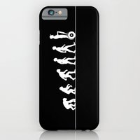 iPhone Cases featuring Evolution path by Tony Vazquez