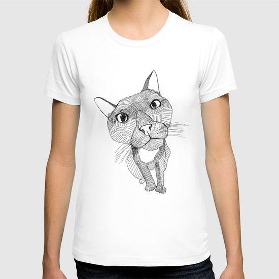 BigHead Cat T-shirt