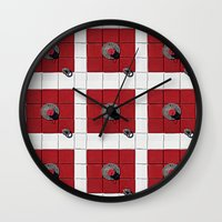 Connect the Squares Wall Clock
