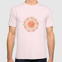 How Strange It Is To Be … Mens Fitted Tee Light Pink SMALL