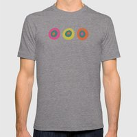 Eye Candy Mens Fitted Tee Tri-Grey SMALL