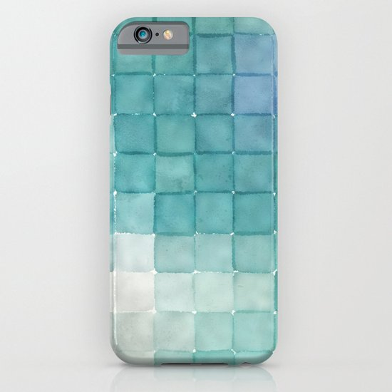 Polaroid Pixels IV (Clouds) iPhone & iPod Case