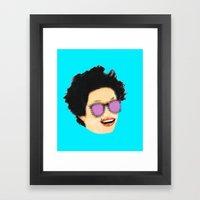 Disco Diva Framed Art Print