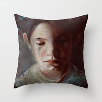 Untitled (dear God) Throw Pillow