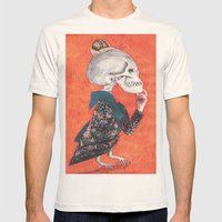 What was the question?(Versión II) Mens Fitted Tee Natural SMALL