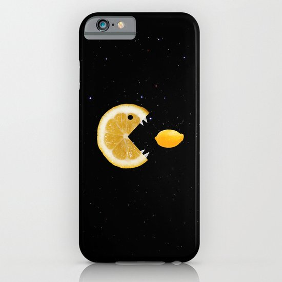 Lemon eats lemon iPhone & iPod Case