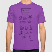 Hannibal - Season 1: Bloodless Edition! Mens Fitted Tee Ultraviolet SMALL