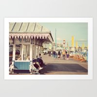 A Summer Walk Art Print