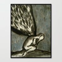 The Reoccurring Sadness Canvas Print