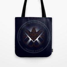 Hidden HYDRA - S.H.I.E.L.D. Logo with Wording Tote Bag