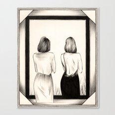 The Mirror Canvas Print