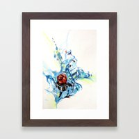 Fruity Time Framed Art Print