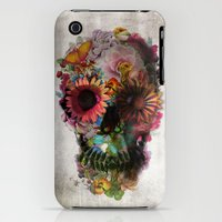 iPhone 3Gs & iPhone 3G Cases featuring SKULL 2 by Ali GULEC